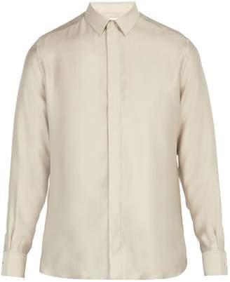 Saint Laurent Point-collar shirt