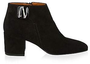 Aquatalia Women's Cameo Waterproof Suede Ankle Boots