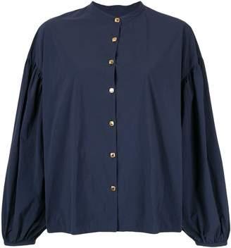 Kolor long-sleeve flared blouse