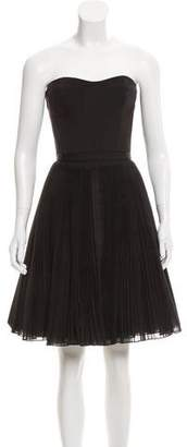 Kaufman Franco Kaufmanfranco Strapless Mini Dress