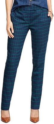 Wool Stretch Plaid Pants $148 thestylecure.com