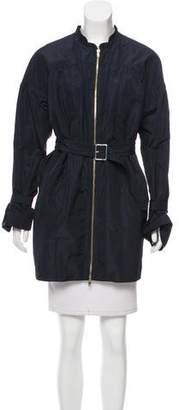 Miu Miu Lightweight Belted Coat