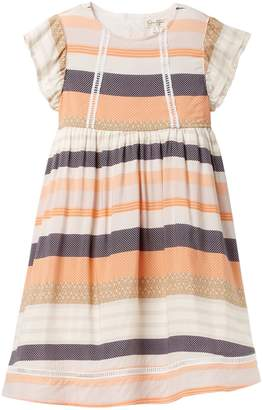 Jessica Simpson Printed Dress (Toddler & Little Girls)