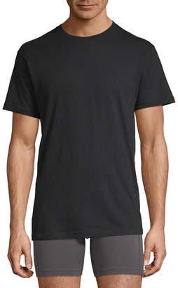 STAFFORD Stafford 4 Pair Dry+Cool Blended Crewneck T-Shirts