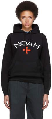 Noah NYC Black Logo Hoodie