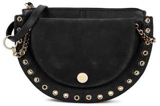 See by Chloe Kriss Medium Black Leather Shoulder Bag