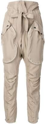 Faith Connexion paper-bag waist trousers