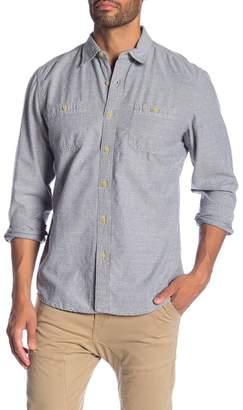 Grayers Hillwood Chambray Dobby Modern Fit Shirt
