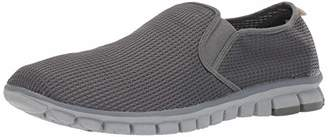 NoSox Men's Wino Comfort Cushioned Flexible Breathable Casual Slip-On Sneaker Loafer