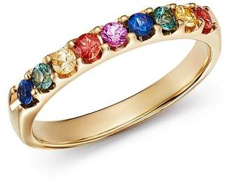 Bloomingdale's Multicolored Sapphire Ring in 14K Yellow Gold - 100% Exclusive