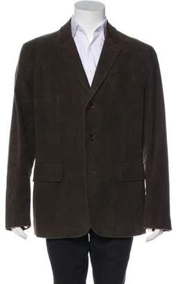 Burberry Felt Nova Check-Lined Sport Coat