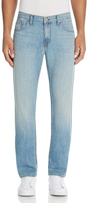 J Brand Kane Straight Fit Jeans in Lynx $198 thestylecure.com