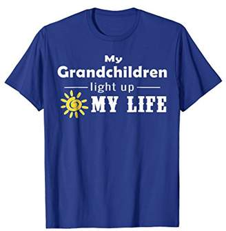 My Grandchildren Light Up My Life T-shirt