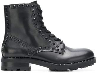 Ash Wolf studded ankle boots