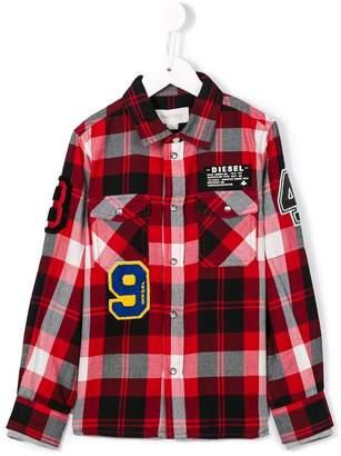 Diesel 'Kxaol' checked shirt
