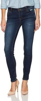 Kensie Jeans Women's Inseam Skinny Jean Ankle Biter