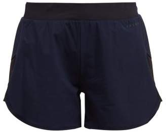 Falke Zen Perforated Panel Technical Shorts - Womens - Navy
