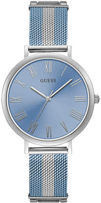 GUESS Women Lenox Two-Tone Stainless Steel Mesh Bracelet Watch 38mm