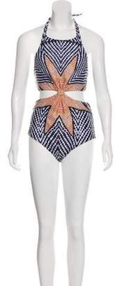 Mara Hoffman Geometric One-Piece Swimsuit w/ Tags