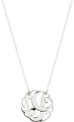 Lord & Taylor Sterling Silver I Initial Pendant Necklace $50 thestylecure.com
