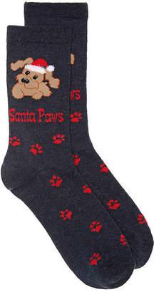 K. Bell Santa Paws Crew Socks - Women's