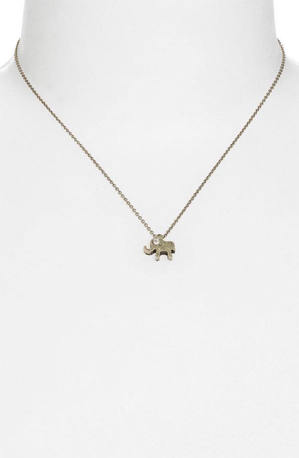 Frenchi® Mini Elephant Charm Necklace