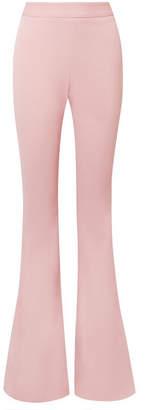 Brandon Maxwell - Crepe Flared Pants - Pastel pink