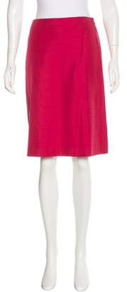 Alberta Ferretti Classic Straight Skirt