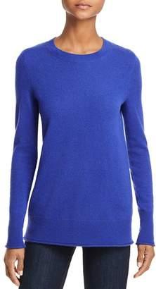 Aqua Fitted Cashmere Crewneck Sweater - 100% Exclusive