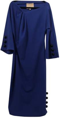 Roksanda Ilincic Blue Wool Dress for Women