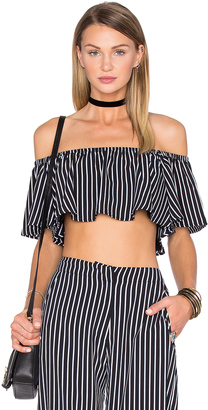 House of Harlow x REVOLVE Bree Crop $110 thestylecure.com