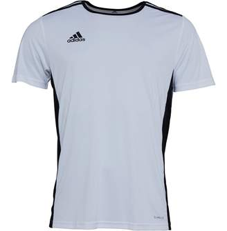 9430a7966 adidas Mens Entrada 18 Training Top White Black