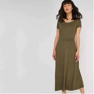 Joe Fresh Women's Short Sleeve Crew Neck Dress