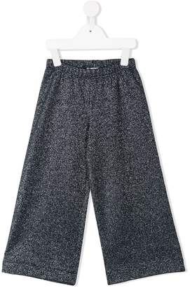 Il Gufo loose flared trousers