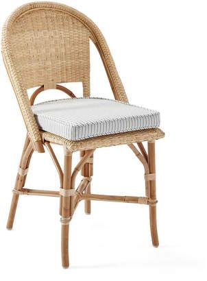 Serena & Lily Sunwashed Riviera Chair Cushion