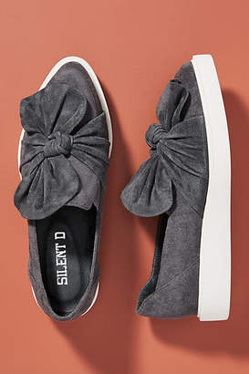 Silent D Knotted Slip-On Sneakers
