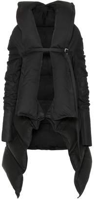 Rick Owens Cotton-blend down coat
