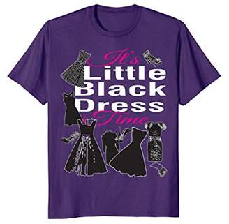 Women Little Dress with Shoes Purse T-shirt