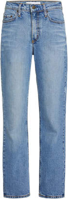 Nobody Denim True Cropped High-Rise Slim-Leg Jeans Size: 27