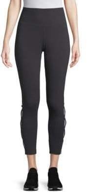 Laced-Ankle Leggings