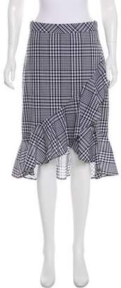 Trina Turk Nikita Gingham Skirt w/ Tags