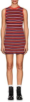 The Elder Statesman Women's Striped Cashmere Skater Dress