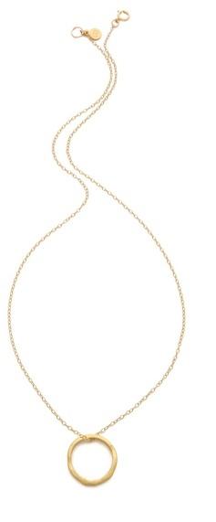 Gorjana G Press Necklace