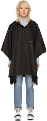 Moncler Black Rain Poncho