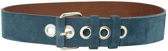 Club Monaco Blue Suede Belts