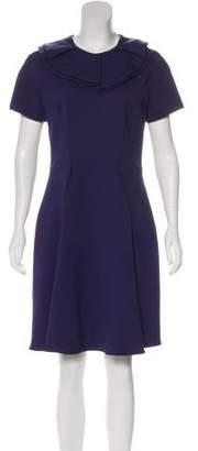 Emporio Armani Short Sleeve A-Line Dress