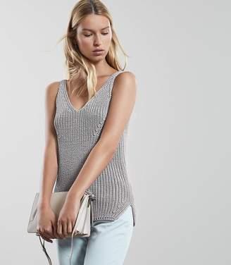 Reiss Gemma Knitted Vest Top