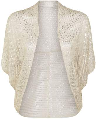 Jenny Packham Sequin Bolero Jacket