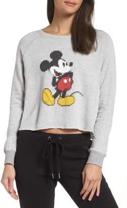 David Lerner Disney Mickey Pixel Sweatshirt
