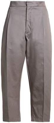 Marni Cropped Cotton-Twill Straight-Leg Pants